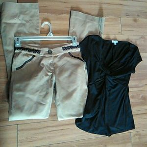 1d3569c5c13ef Bootcut Active Leggings NWOT. M_5a89f021077b97f15011a499. Other Pants you  may like. Cache top and NWTS pants